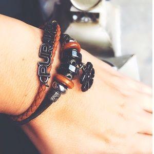 Pura Vida Layered Flower 🌸 Bracelet
